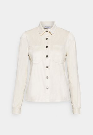 NMHALO HILL - Button-down blouse - eggnog