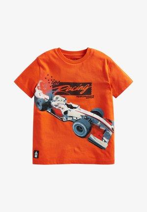 GRAPHIC - Print T-shirt - orange