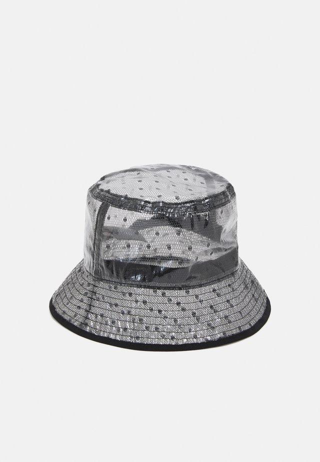 BUCKET HAT - Hatt - nero