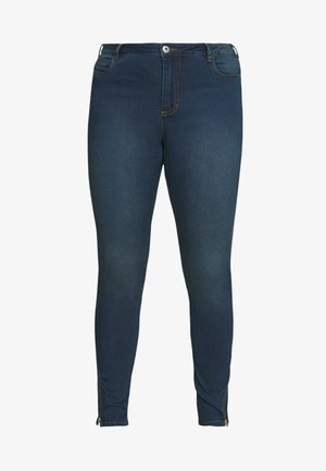 AMY  WITH ZIP DETAIL - Jeans Skinny Fit - blue denim