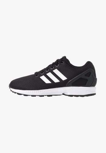 ZX FLUX - Trainers - clear black/footwear white/clear pink