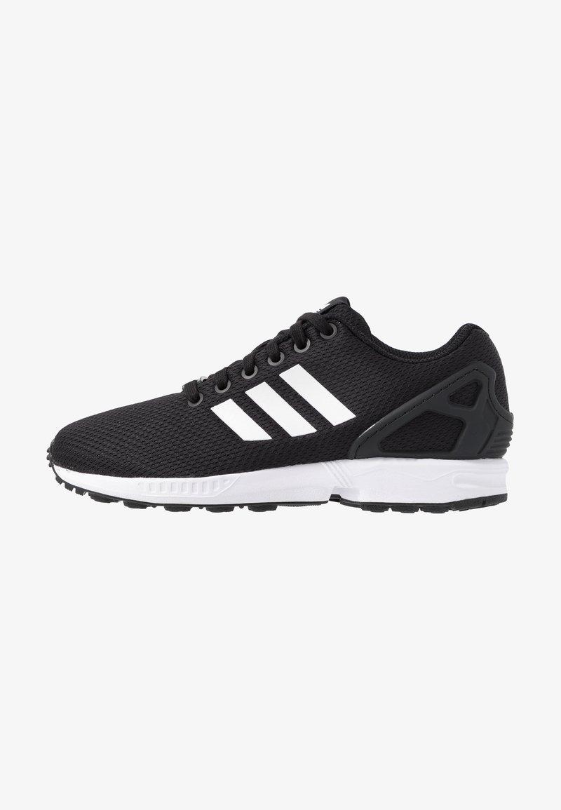 el plastico tenis Afilar  adidas Originals ZX FLUX - Trainers - clear black/footwear white/clear  pink/black - Zalando.de