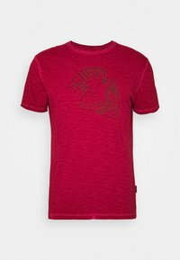 Schott - Print T-shirt - red - 1