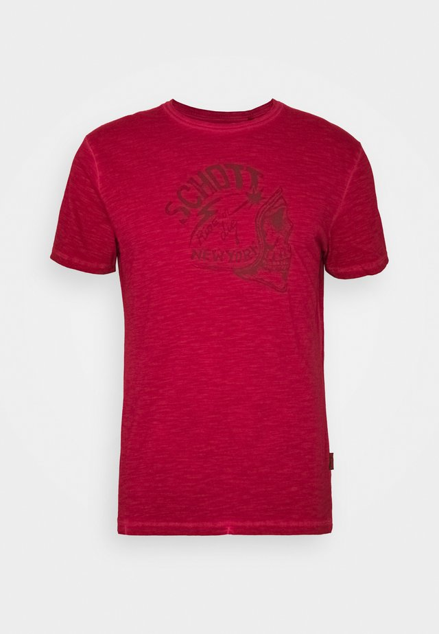 T-shirt z nadrukiem - red