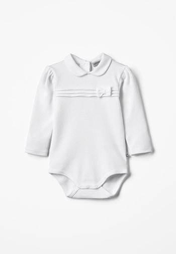 LANGARM CLASSIC GIRL BABY - Body - weiß