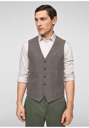 Waistcoat - brown check