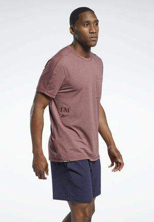 LES MILLS - T-shirt - bas - red