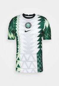 Nike Performance - NFF NIGERIA NIGERIA HOME - Landslagströjor - white/black - 4