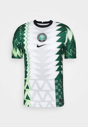 NFF NIGERIA NIGERIA HOME - Nationalmannschaft - white/black
