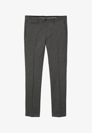 GEORGE SLACKS - Suit trousers - dark grey hbt