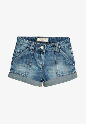 TURN-UP - Shorts vaqueros - blue