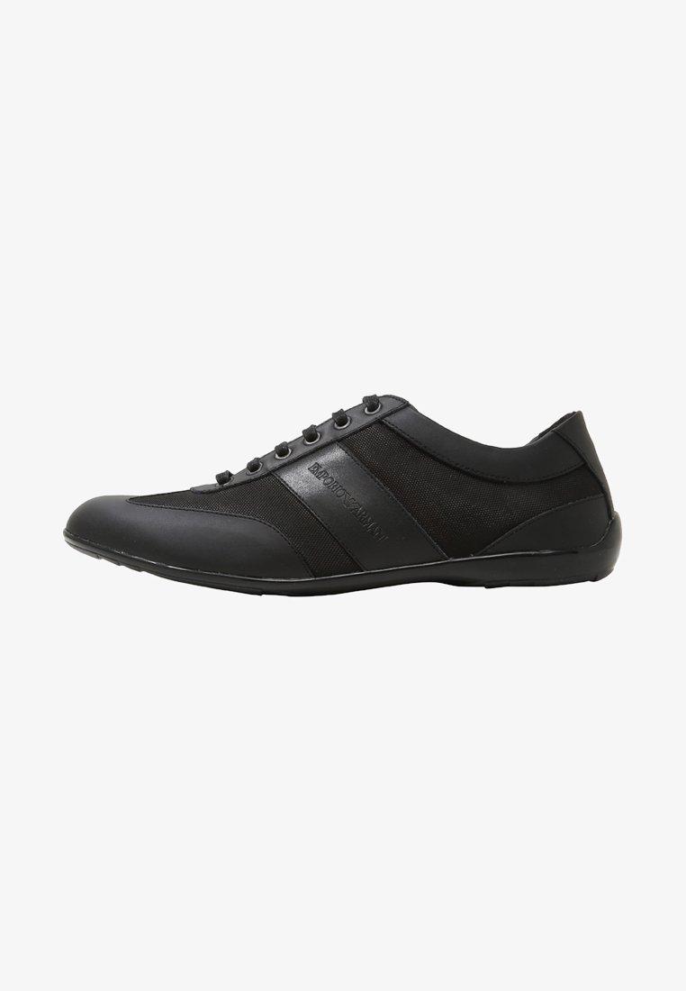 Emporio Armani - DERBY ACTION  - Zapatillas - black