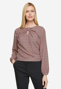comma - Blouse - red graphic minimal - 3