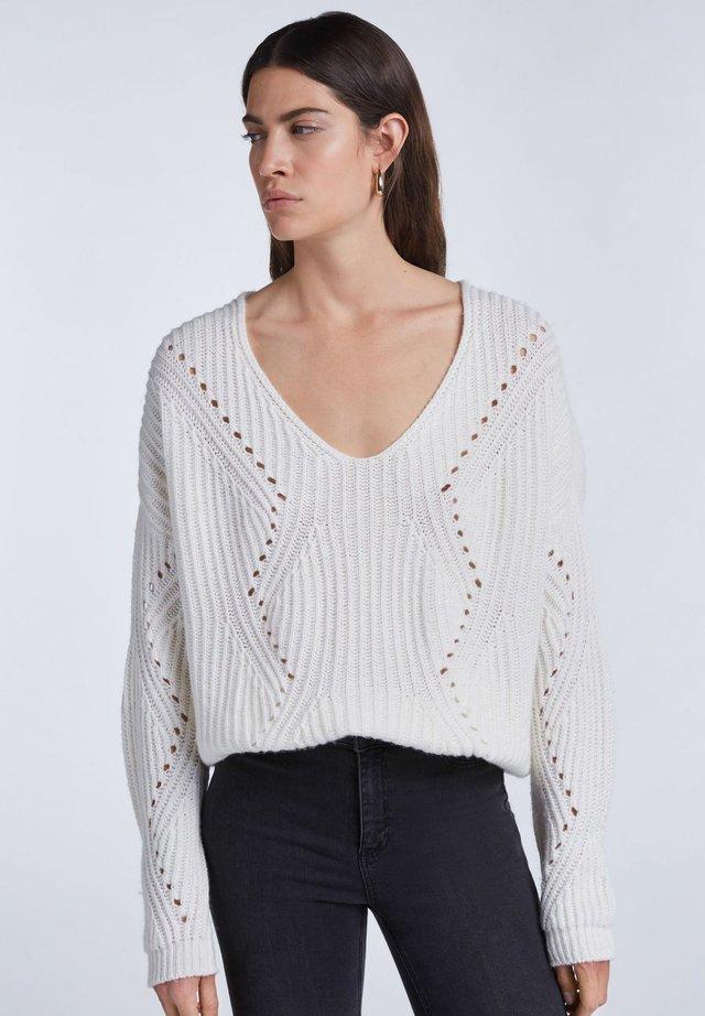 Pullover - marshmallow