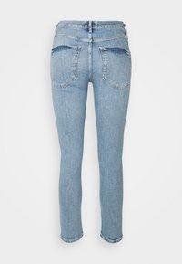 Agolde - PRECIPICE TONI MID RISE - Slim fit jeans - precipice light indigo - 1