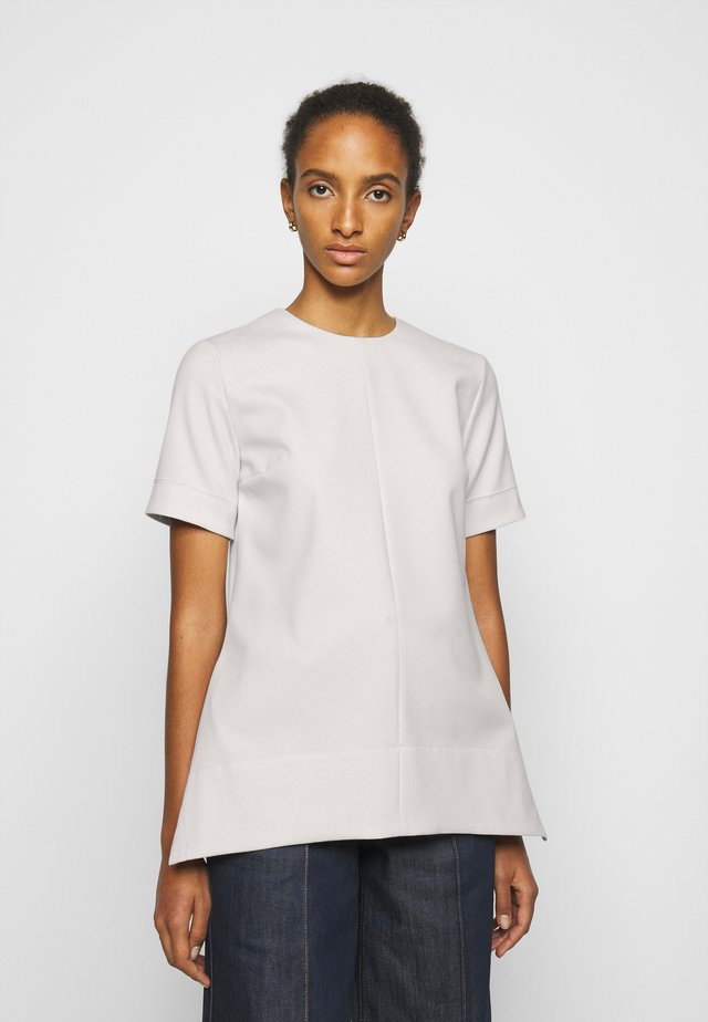 SHORT SLEEVE LIGHTWEIGHT STRETCH - Blouse - cream
