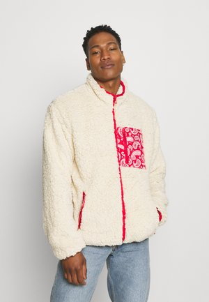 NANASH - Zip-up hoodie - cream