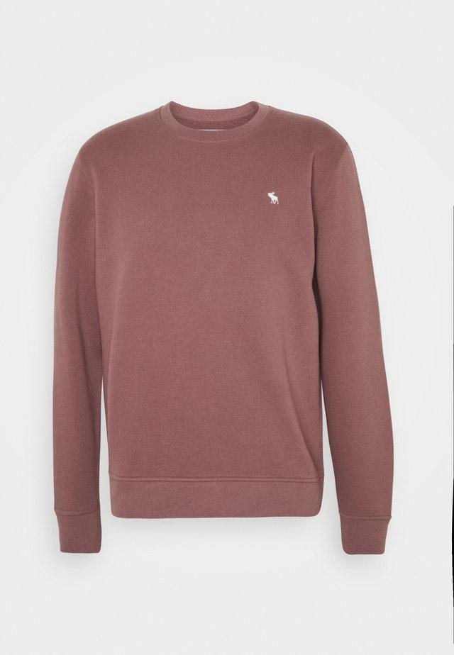 ICON CREW - Sweatshirt - burgundy