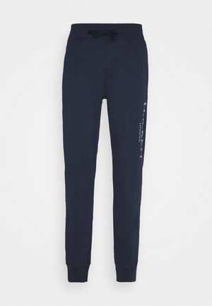 PANTS - Tracksuit bottoms - dark navy