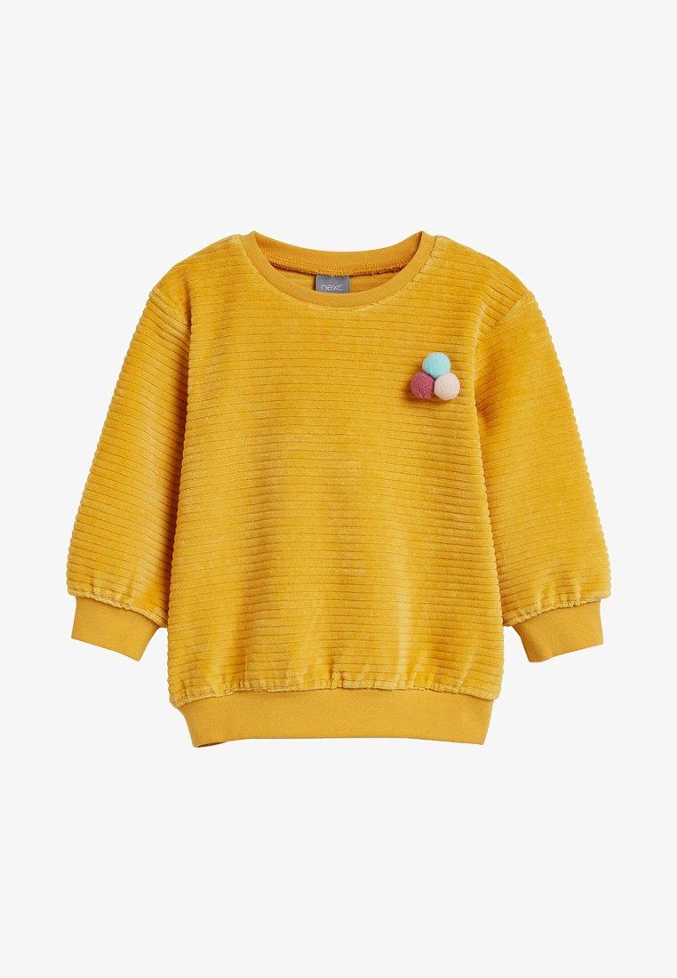 Next - Sweatshirt - yellow