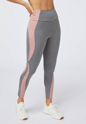 MIT BLOCK DETAILS  - Leggings - light grey