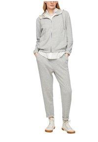s.Oliver - Zip-up sweatshirt - gray - 4