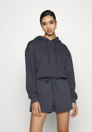 PCCHILLI CROPPED HOODIE - Hoodie - ombre blue