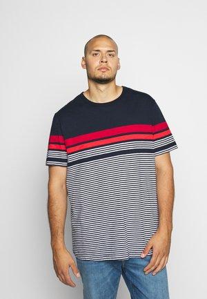 JCOBLUE TEE CREW NECK - T-shirt imprimé - sky captain