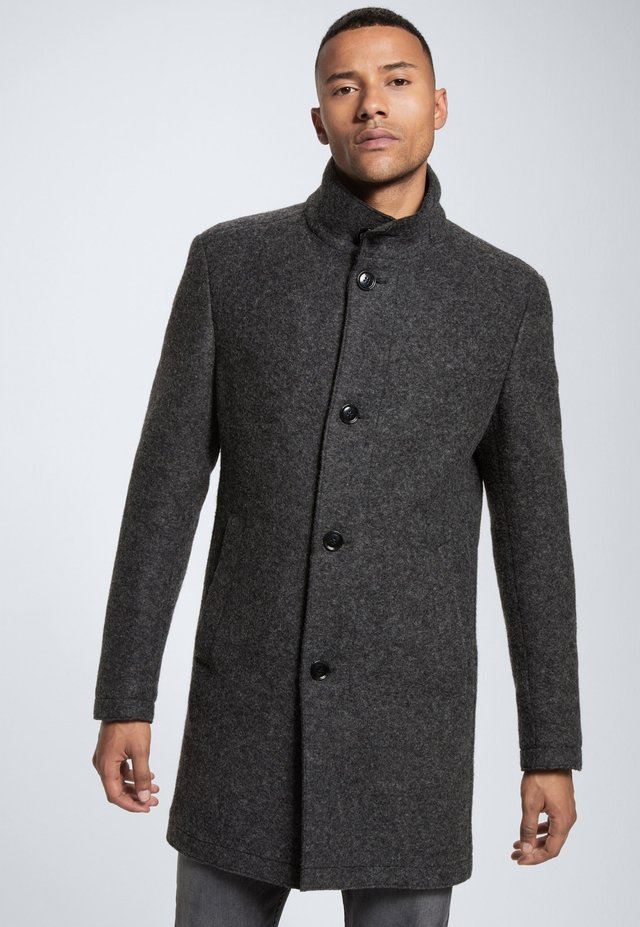 Wollmantel/klassischer Mantel - dunkelgrau