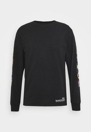 BOTANICAL GARDEN TEE - Long sleeved top - black