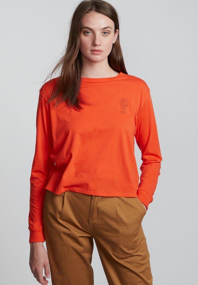 CHRISTA  - Long sleeved top - grenadine
