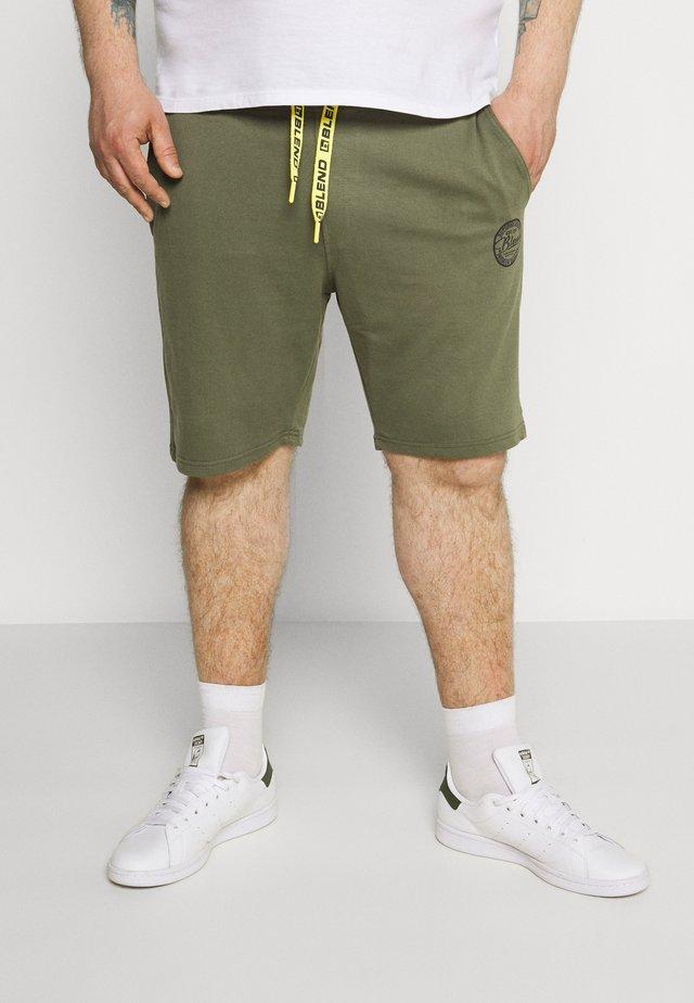 Teplákové kalhoty - kalamata green