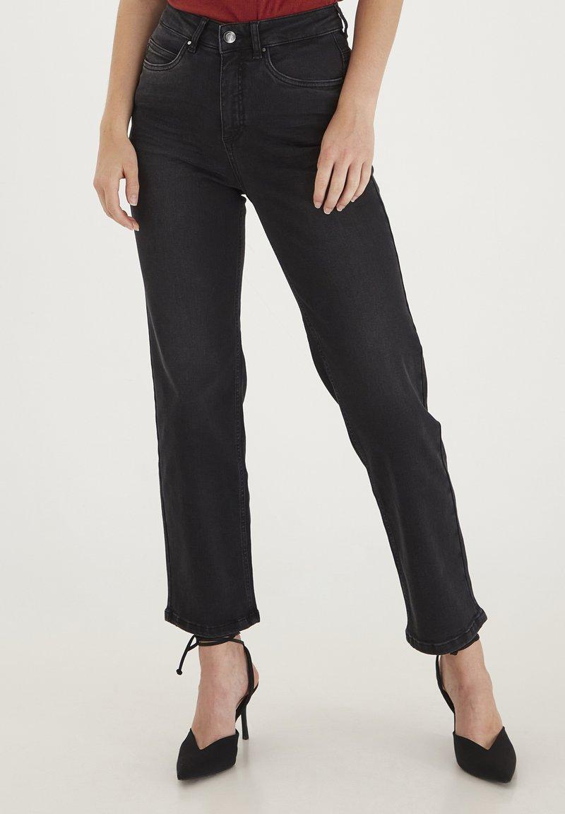 Dranella - DRLISO - Jeans slim fit - black denim