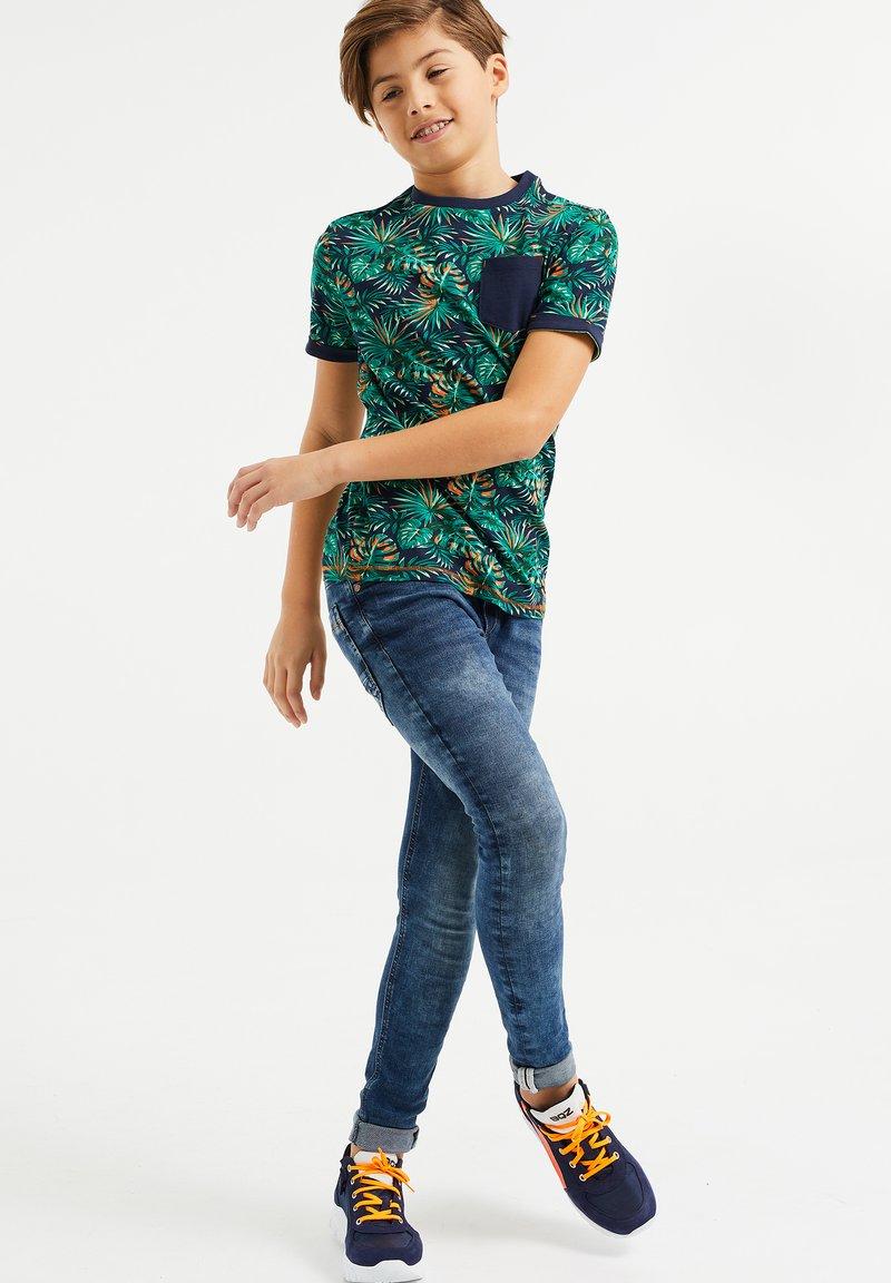 WE Fashion - MET BLADERENDESSIN - T-shirt print - multi-coloured