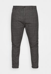 Jack´s Sportswear - CHECKED CLUB PANTS - Kalhoty - dark grey - 4