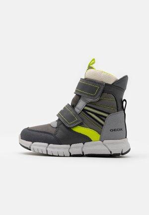 FLEXYPER BOY  - Zimní obuv - grey/lime
