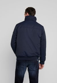 TOM TAILOR DENIM - TRIMMED BOMBER - Winter jacket - sky captain blue - 4