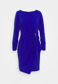 Jersey dress - sapphire
