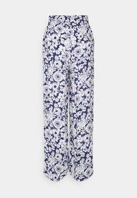 Gina Tricot - DISA TROUSERS - Pantalon classique - blue flower - 1