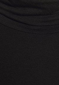 Banana Republic - LAYERING NECK - Long sleeved top - true black - 2