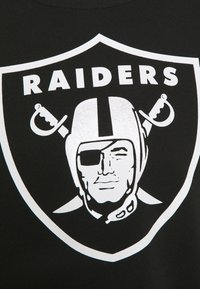 Fanatics - NFL LAS VEGAS RAIDERS MID ESSENTIALSPRIMARY COLOUR LOGO GRAPHIC  - Felpa - black - 2