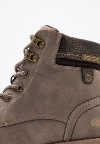 Dockers by Gerli - Lace-up ankle boots - taupe/braun - 2