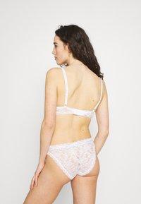Calvin Klein Underwear - ONE BIKINI - Braguitas - white - 2