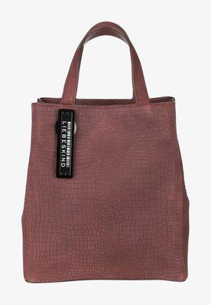 LIZARD LOOK - Handbag - merlot