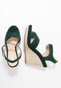 Anna Field - LEATHER - Højhælede sandaletter / Højhælede sandaler - green - 3