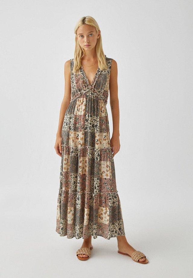 Robe longue - khaki