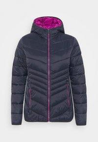 CMP - WOMAN JACKET FIX HOOD - Winter jacket - black/blue - 3