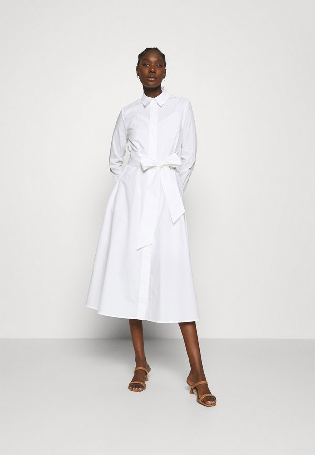 SHIRT DRESS MIDI LENGTH - Robe d'été - bright white