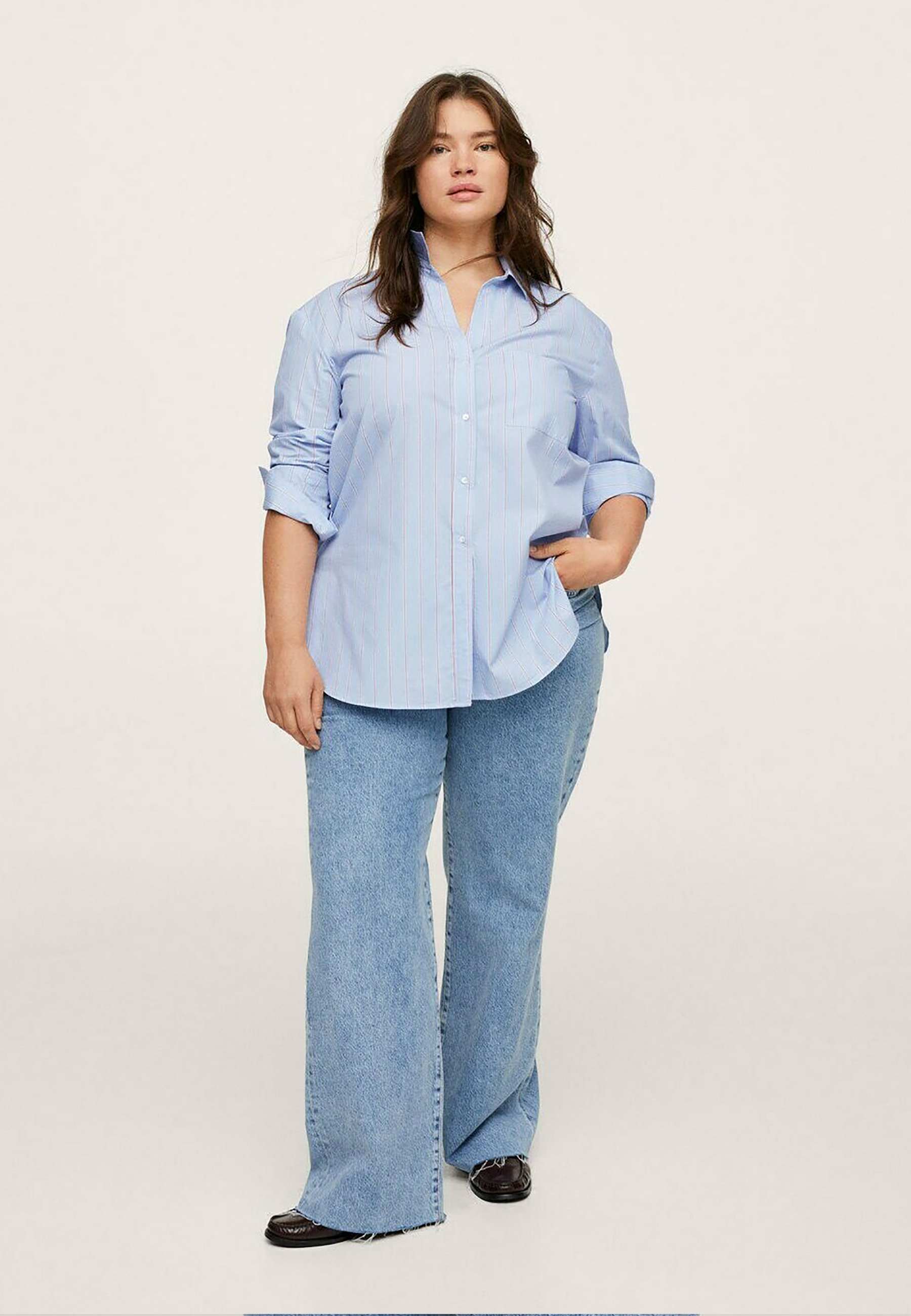 Donna GESTREEPTE OVERSIZED - Camicia