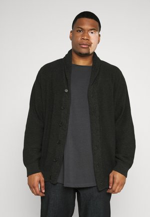 JJVINCE CARDIGAN - Kofta - forest night